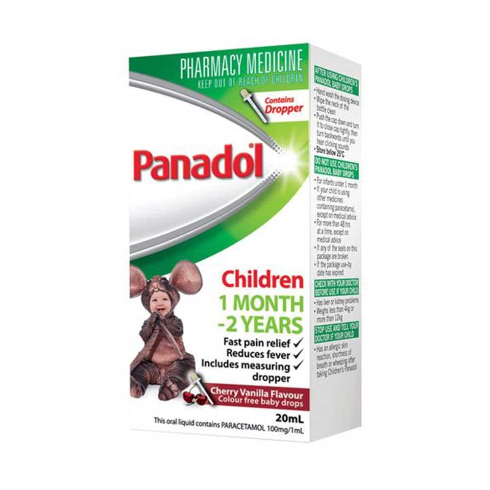 Healthsave Pharmacy Muswellbrook - Baby Panadol